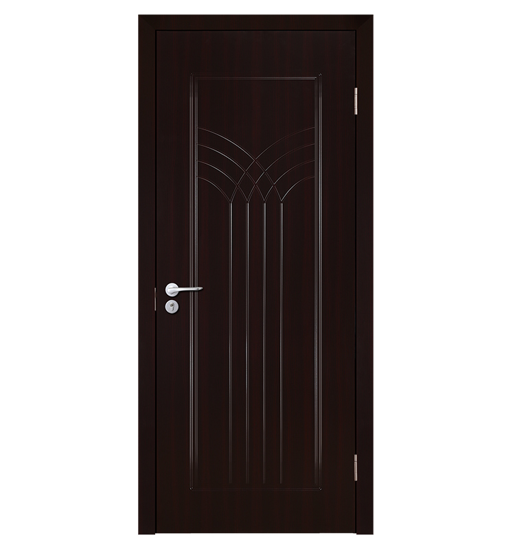 Modern Simple Good Quality Pvc Wooden Interior Hinged Door